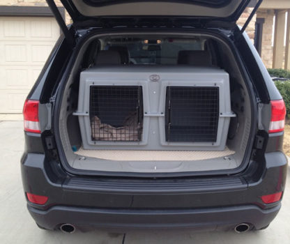 easy loader deuce dog kennel for the suv or mini van