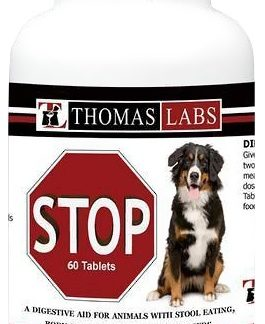 Stop Deters Dogs from eating there own Stool 60 count bottles $11.00