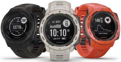 Instinct Watch by Garmin in 3 colors