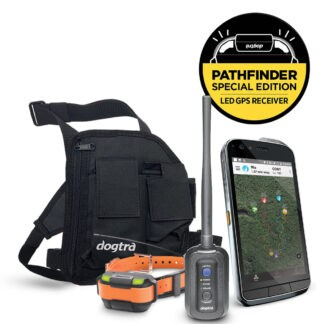 PATHFINDER MINI RECEIVER S61 Smartphone by CAT Customized PATHFINDER APP Thermal Camera provided by FLIR Wearable Carrying Holster PATHFINDER MINI GPS Connector
